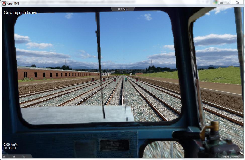 Game Simulasi Kereta Api Indonesia
