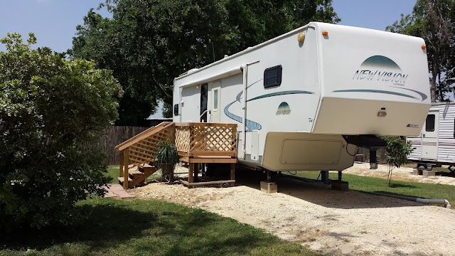 A long term or monthly RV accomodation