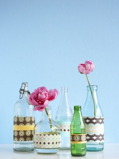 Decorate Plain Glass Vase And Make It Look Outstanding Decor Units