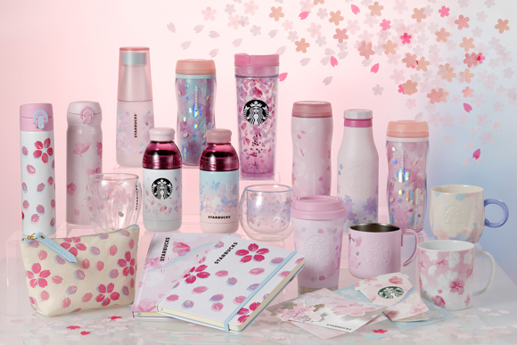 Starbucks Sakura Goods First Series