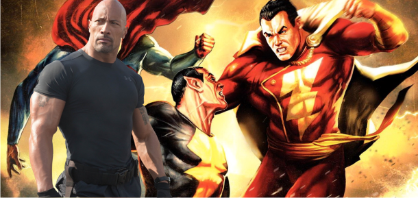 Shazam | Dwayne Johnson decide interpretar Adão Negro no filme da DC Comics