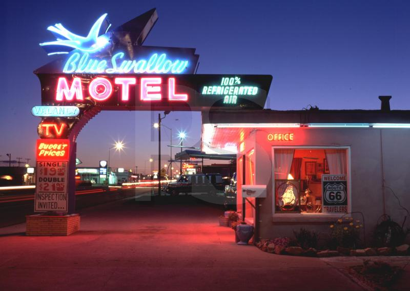 lost toronto: The Blue Swallow Motel/Tucumcari New Mexico