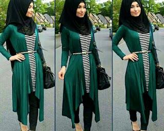 model baju hijab modern anak muda