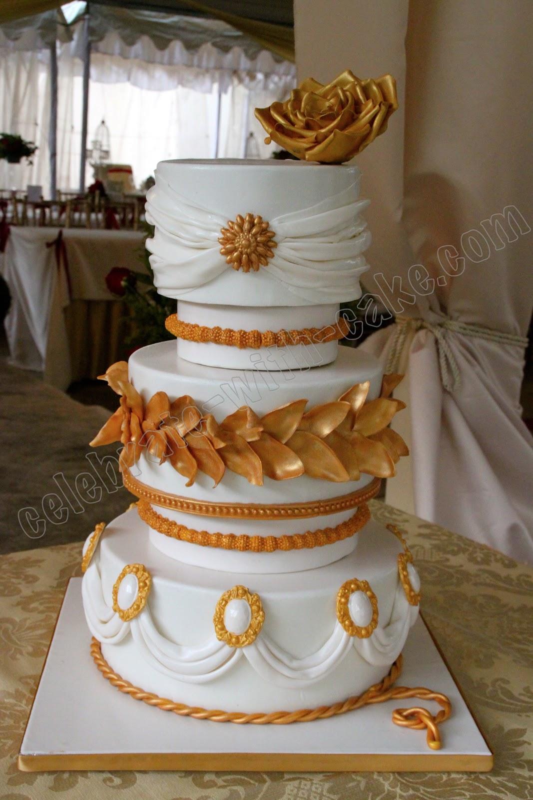 Three-Tier Buttercream Cake