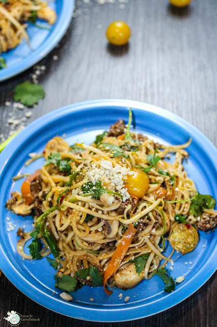 Rezept einfacher Salat