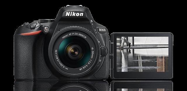 الكاميرا الرقمية D5600 الجديد كليا من Nikon