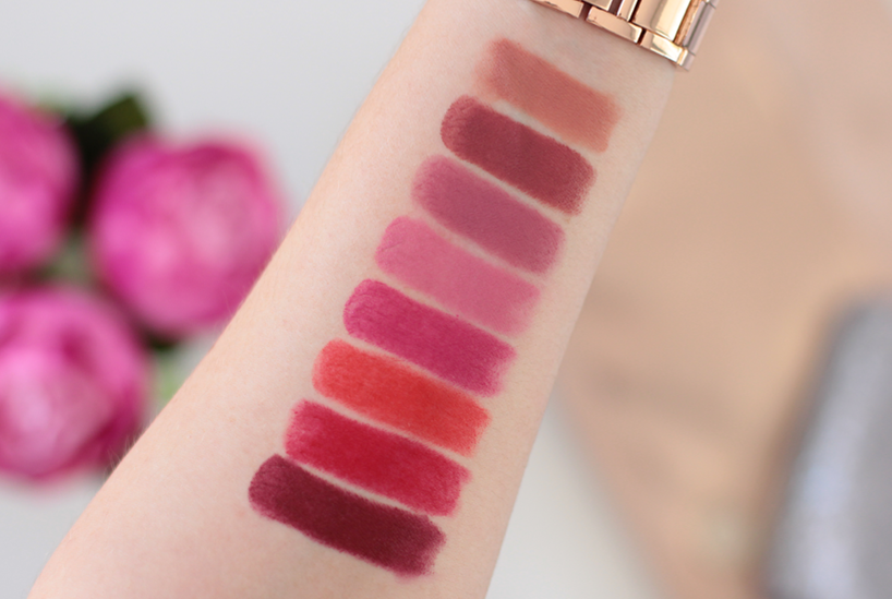 color sensational creamy mattes swatches