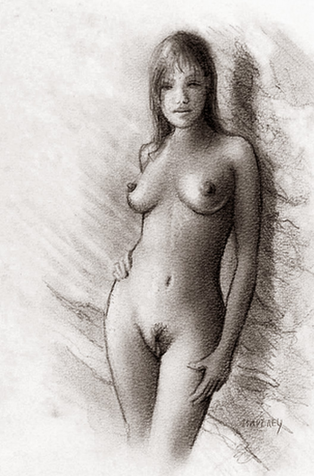 Nude reference for drawing