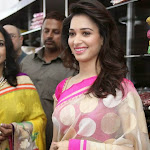 Tamanna hot saree stills
