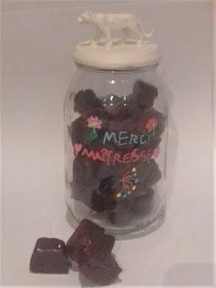 Fabriquer un bocal à bonbons personnalisé