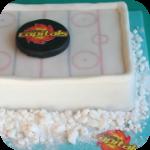 Eishockey Torte