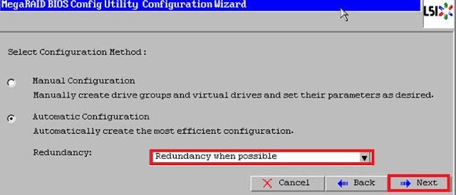 Fujitsu Server RAID configuration steps  Virtualcloudz