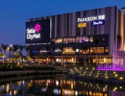 setia city mall shah alam menarik