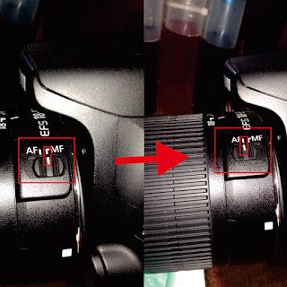Cara Setting Auto Focus Camera DSLR