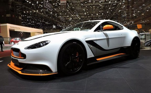This is a New Car Vantage GT8 which will bee petitor of Porsche 911 GT3 ~ Real Auto Tips