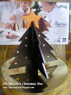 Chocolate christmas tree 3D