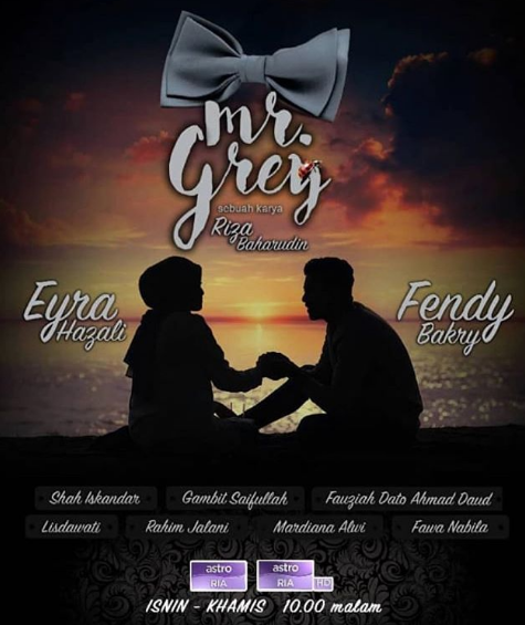 Sinopsis Mr Grey, OST Mr Grey, Novel Mr Grey, Novelis Syamnuriezmil, Drama Mr Grey, Drama Adaptasi Novel, Drama Melayu, Drama Bersiri 14 Episod, Novel Online, Slot MegaDrama, Astro Ria, Baca Online Novel Mr Grey, Watak, Mr Grey, Nisa Ardina, Ilham Arsyad, Datin Musalma, Mr Red, Mr Grey Cast, Pelakon Drama Mr Grey, Fendy Bakry, Eyra Hazali, Shah Iskandar, Lisdawati, Gambir Saifullah, 2018,