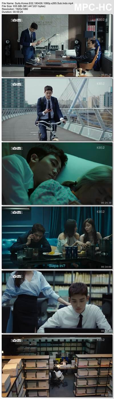 Screenshots  Full Movie Drama Korea Suits aka Shucheu aka 슈츠 (2018) Episode 02 1080p MP4 Subtitle Indonesia Google Drive