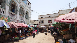In the markets of Djibouti people dont like cameras