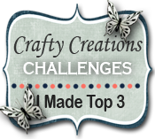 2 x Crafty Creations Top 3