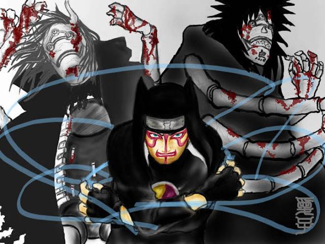 Karakter Anime Yang Bersenjatakan Senjata Anti Mainstream Kankuro
