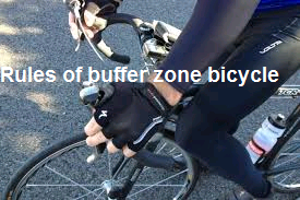 Rules of buffer zone bicycle