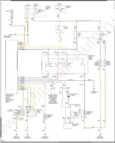 repairmanuals: Audi S8 2001 Wiring Diagrams