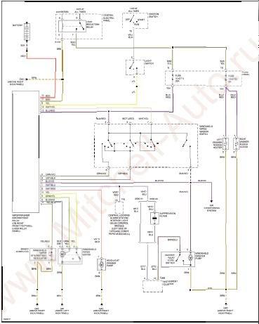 repairmanuals: Audi S8 2001 Wiring Diagrams