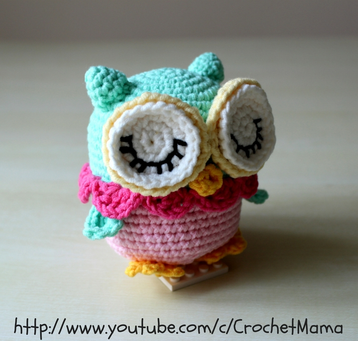 How to Make a Cute Amigurumi Crochet Owl | 680x713