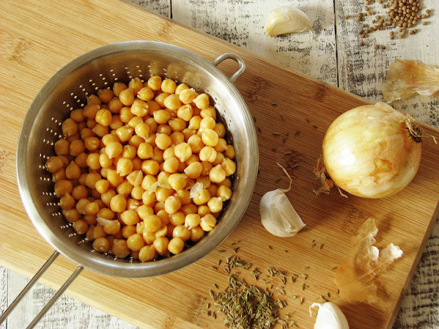 Pois-chiches bio pour recette de falafels facile