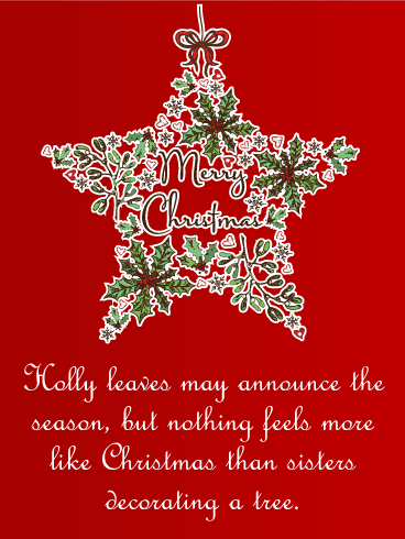 Merry Christmas Wishes Text.40 Best Merry Christmas Sister Quotes And Sayings Best