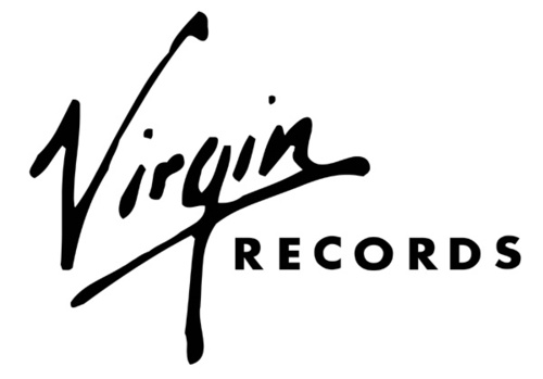 Something is. virgin records logo with you