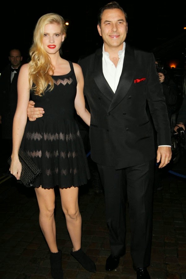 David Walliams And Lara Stone Split
