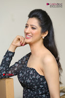 Telugu Actress Richa Panai Stills in One Shoulder Floral Long Dress at Rakshaka Bhatudu Movie Interview  0300.JPG