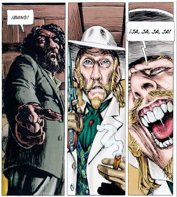 Marshall Bass de Macan, Kordey y Desko, edita ECC ediciones comic western sheriff viñeta