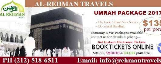 Umrah Visa Special $135 per person