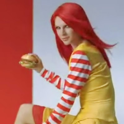Taylor Swift in McDonald's