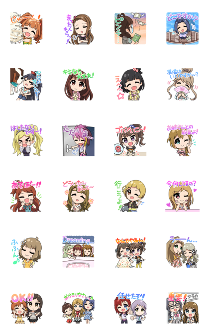 THE IDOLM@STER Million Live! Chibi Ver.3