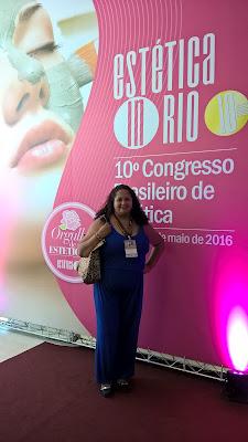 Lu Tudo Sobre Tudo no encontro de blogueiras 2016 Estética in Rio