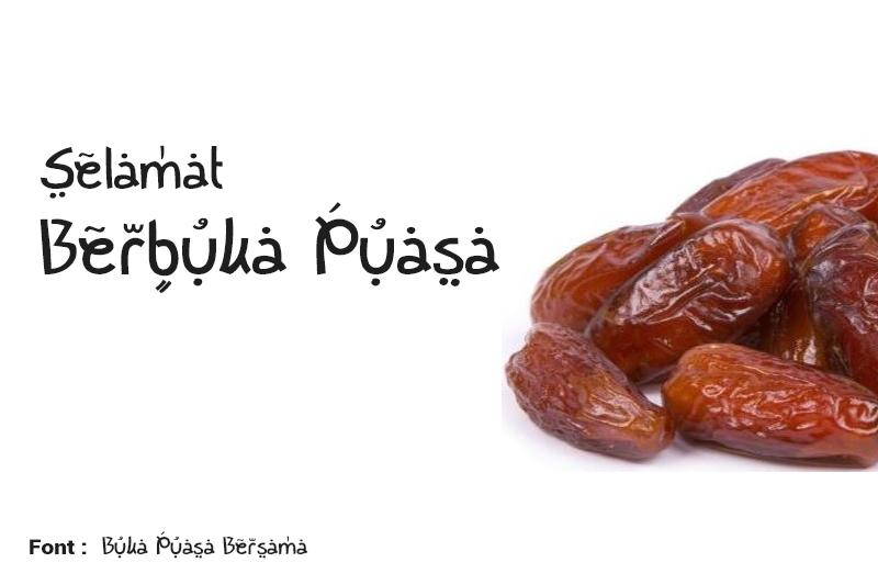 10 Font Gratis Untuk Karya Grafis Bertema Ramadhan Review Sotoy