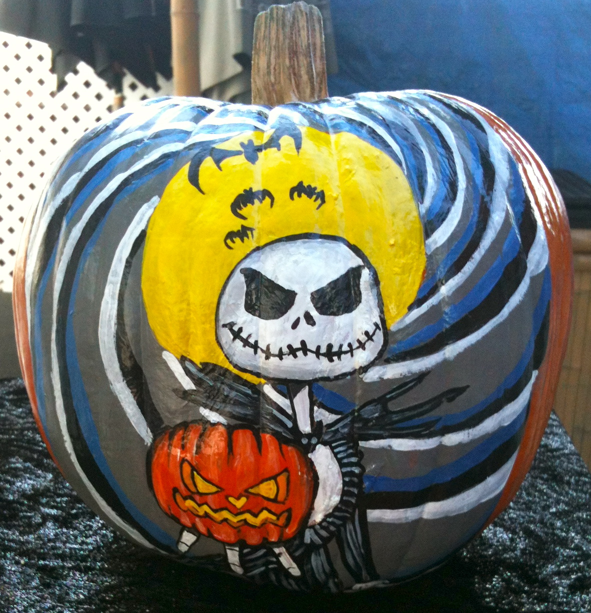 Monica's Painted Pumpkins