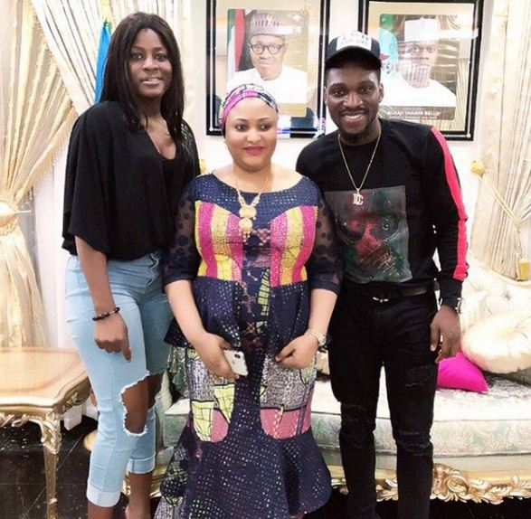 kogi first lady, tobi and alex