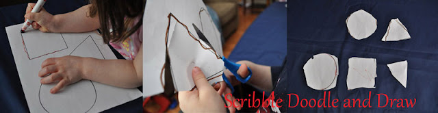 Build fine motor skills by tracing and cutting shapes