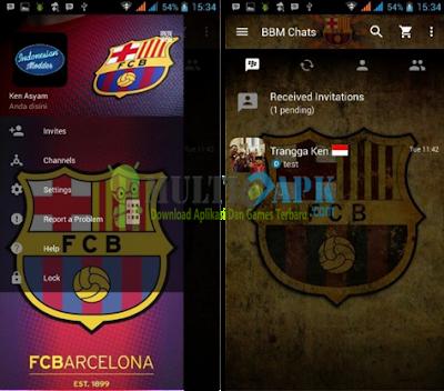 Update BBM Mod Barcelona Versi 3.0.0.18 Apk