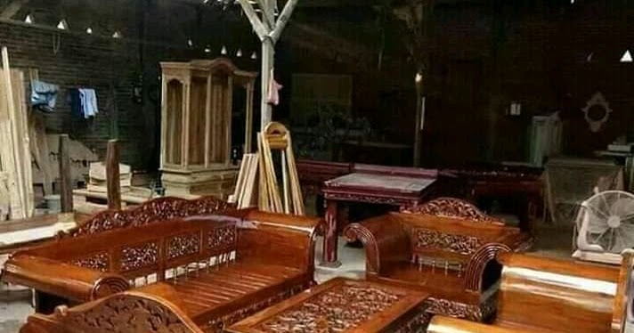 Kursi Ukir Jati Arief Jati Furniture