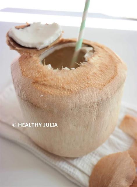Couper Noix De Coco ouvrir une noix de coco fraÎche - healthy julia