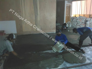 perkuatan lantai beton untuk basement