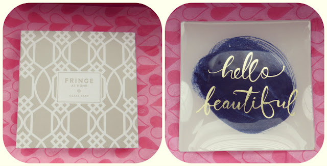 Fringe Studio Hello Beautiful Square Tray