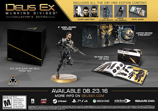 1 Deus Ex Mankind Divided Collectors Edition is 54% off as a lightning deal right now