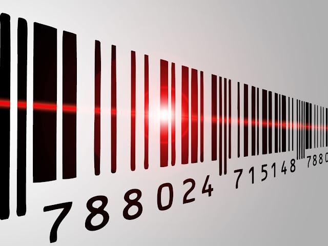 In tem mã vạch - Thiết kế in tem nhãn mã vạch với số nhảy tự động, in hồng hạc